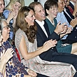 Kate Middleton and Prince William attended an event in Singapore in September 2012.