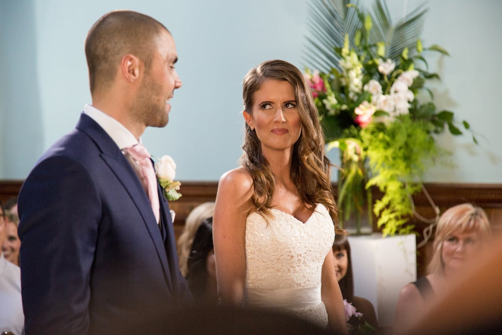 Erin brosnan wedding