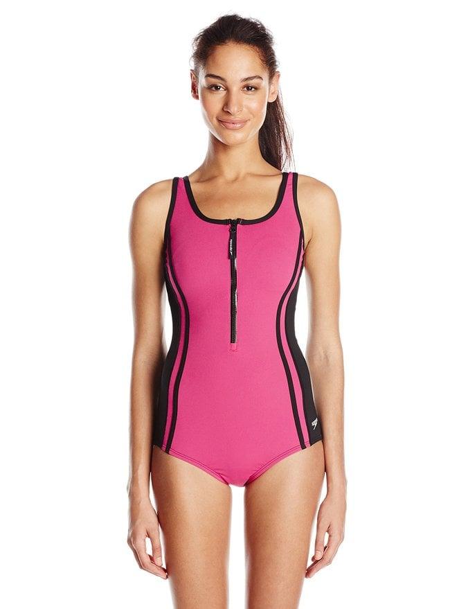 Speedo One-Piece Fitness Swimsuit