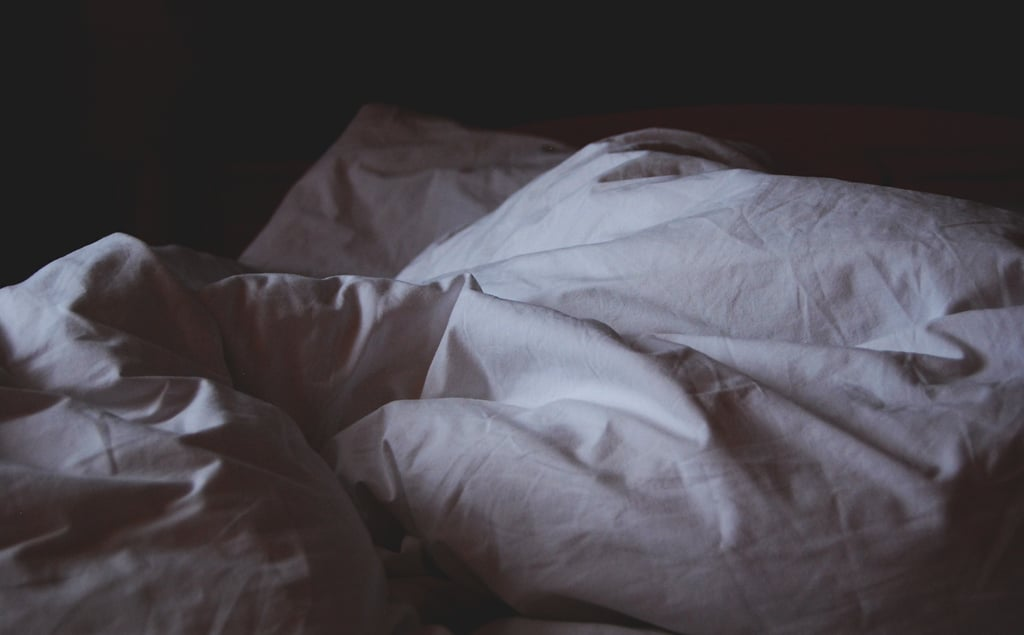 When you're sleeping alone each night . . . it's time to call it quits.
