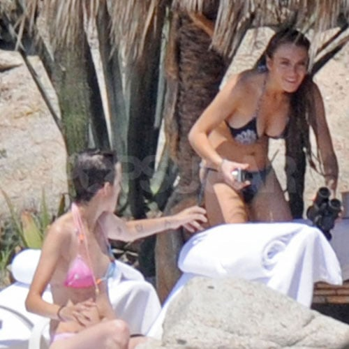 Lindsay Lohan and Samantha Ronson Bikini Photos