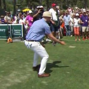 "Justin Timberlake Does ""The Carlton"" Dance 