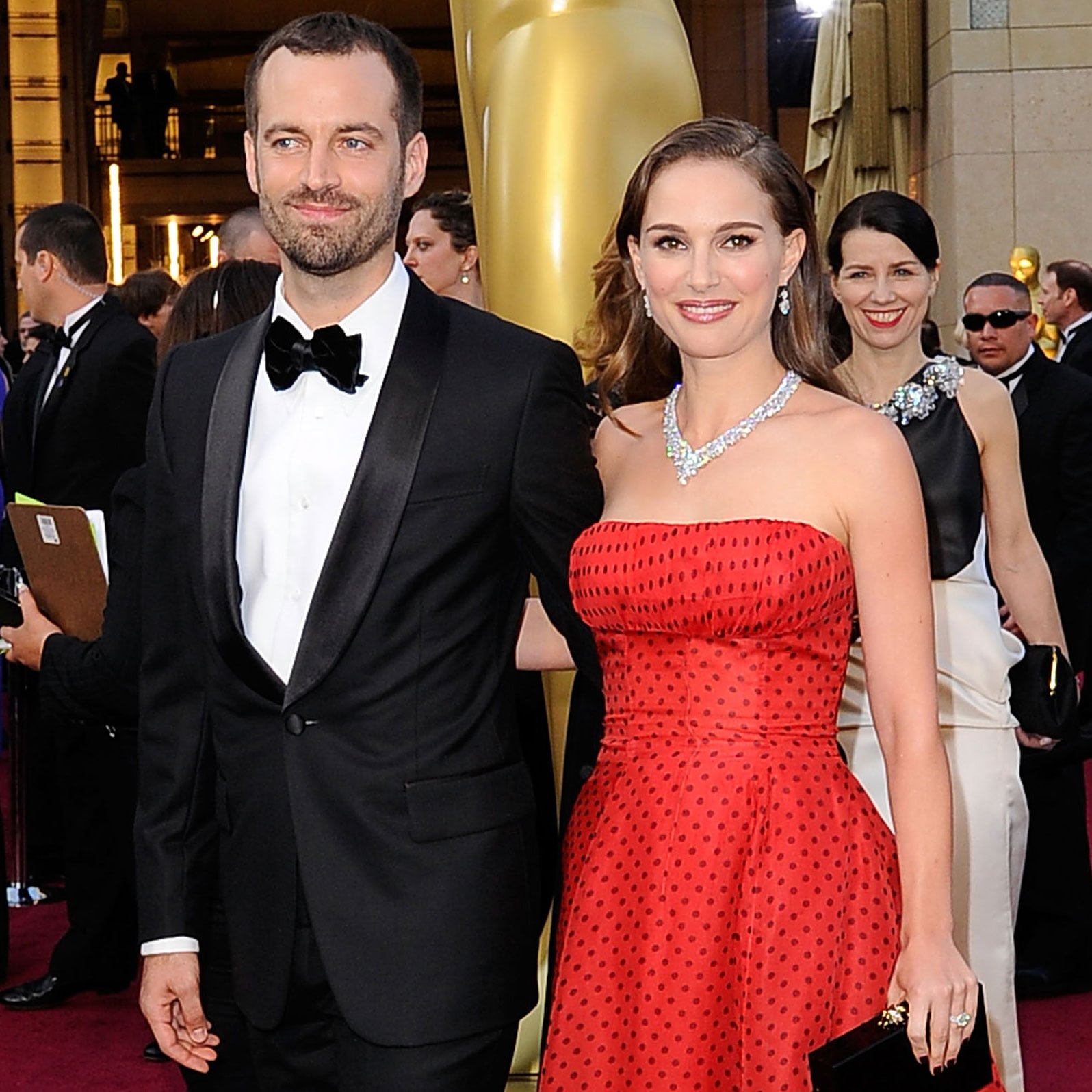 Natalie Portman married Benjamin Millepied wearing a Rodarte wedding dress