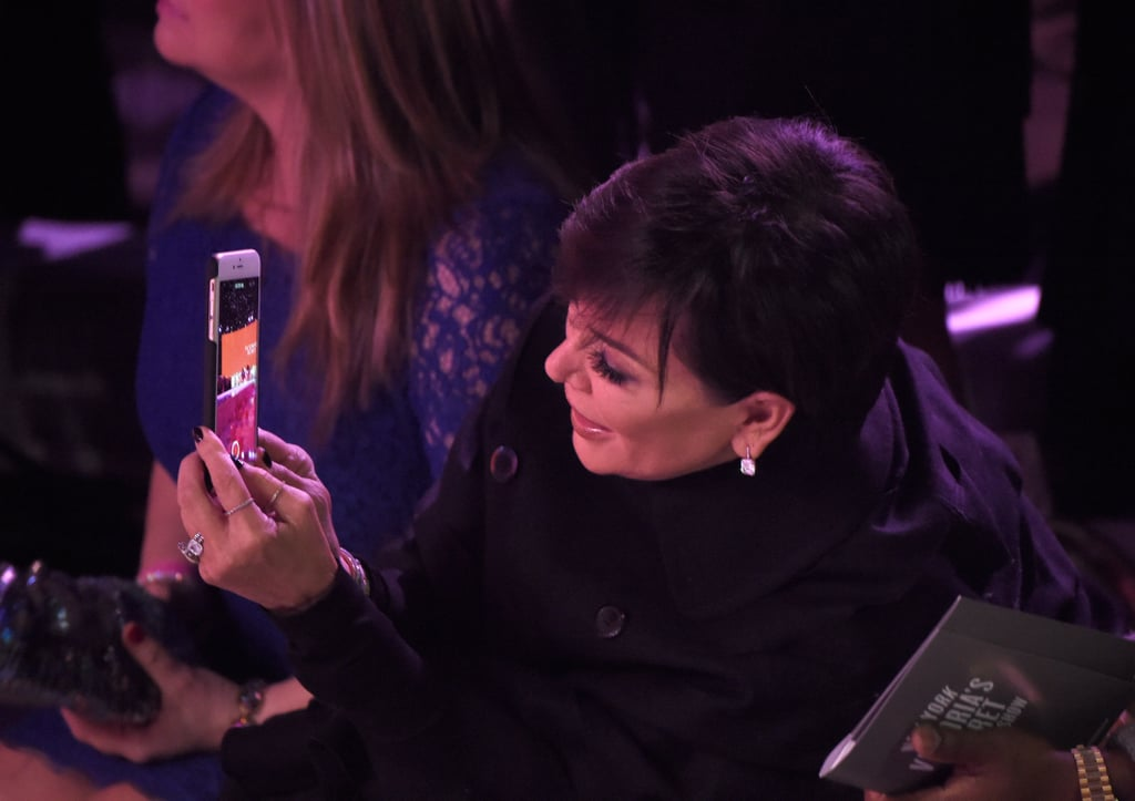Kris Jenner at the Victoria's Secret Fashion Show 2015