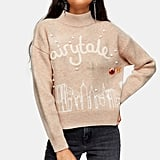Topshop Christmas Knitted Fairytale Jumper