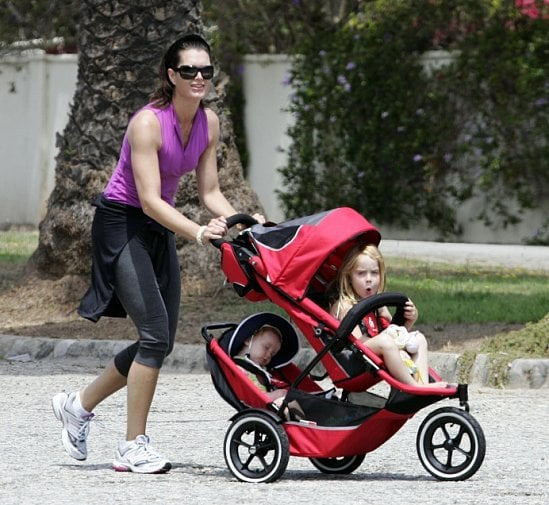 Get in Gear: Brooke Shields's Jogging Stroller