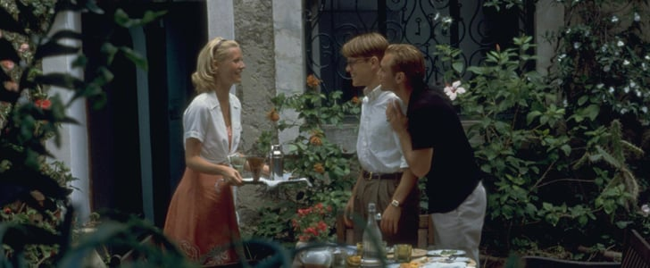 46. The Talented Mr. Ripley: Gwyneth Paltrow, Matt Damon, and Jude Law traveling Italy in airy '50s garb. How could that go wrong?  47. Rush: When Frida Giannini opens the Gucci archives to you, that's an offer you don't refuse. Rush's costume designer got one such invitation and outfitted his stars Olivia Wilde and Chris Hemsworth in the most opulently '70s wardrobe we've ever seen.  48. Love Story: Ali MacGraw's coat collection alone is worth the price of admission.  Source: Miramax