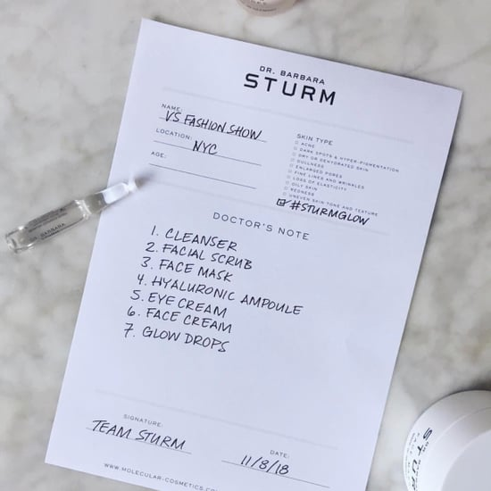 Dr Barbara Sturm Products Used at Victoria's Secret Show