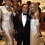 Rachel Zoe cuddled up to Valentino for a photo. Source: Twitter User RachelZoe
