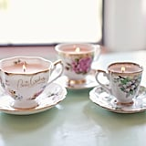 Vintage Candle Teacup DIY