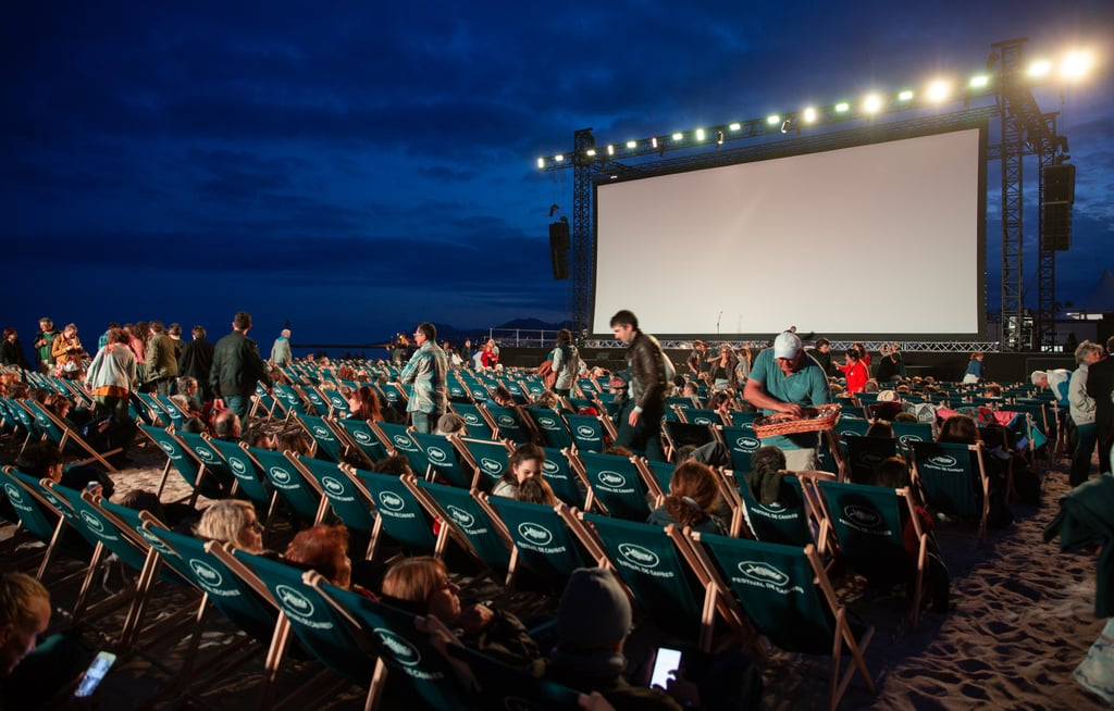 Attend a free outdoor movie.