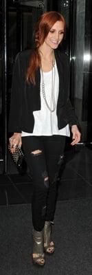 Celeb Style: Ashlee Simpson