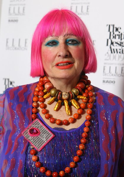 Zandra Rhodes Makeup Popsugar Beauty Uk
