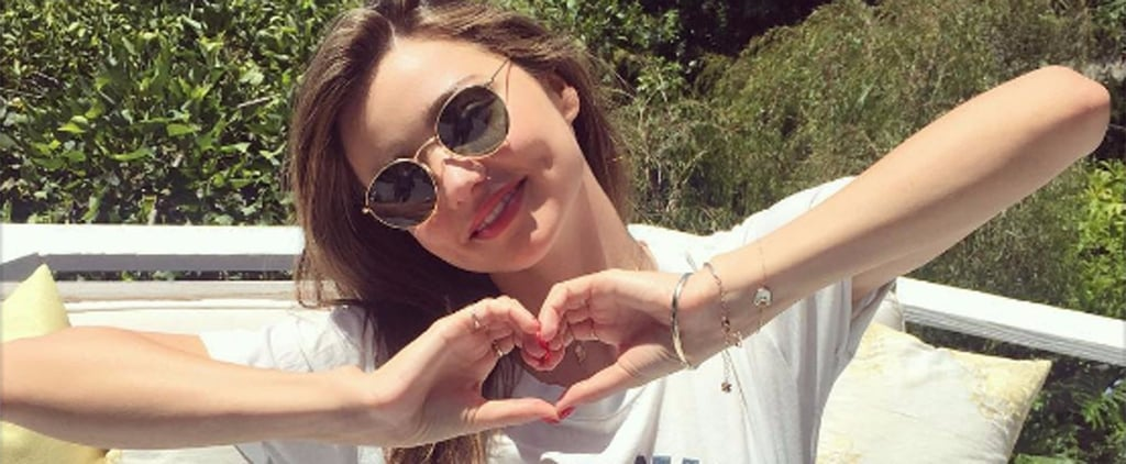 Live Like Miranda Kerr and Copy Her Day on a Plate