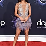 Tessa Brooks at the 2019 American Music Awards
