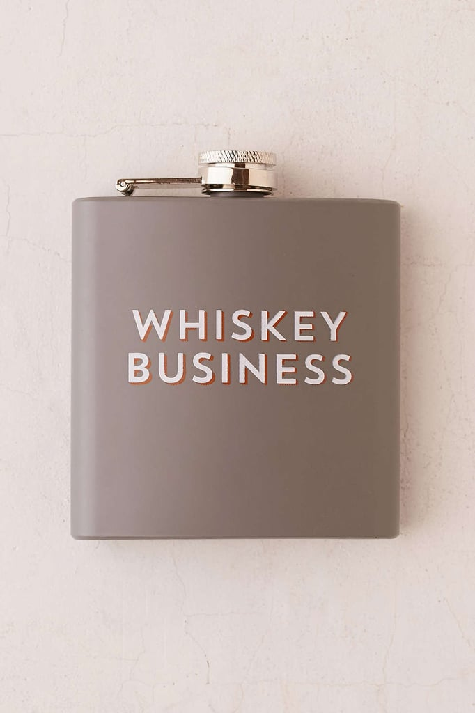 """""""Whiskey Business"""" Flask"""