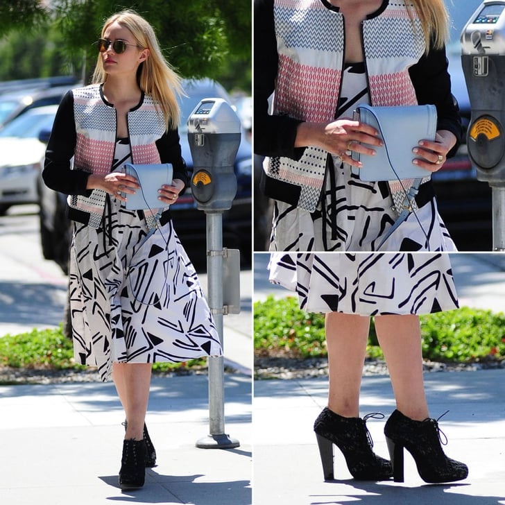 The Outfit That Will Make You a Believer in Mixed Prints