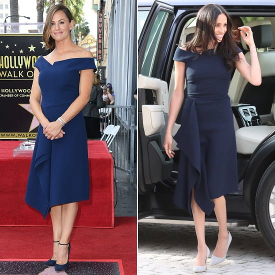 Jennifer Garner Roland Mouret Dress at Walk of Fame Ceremony