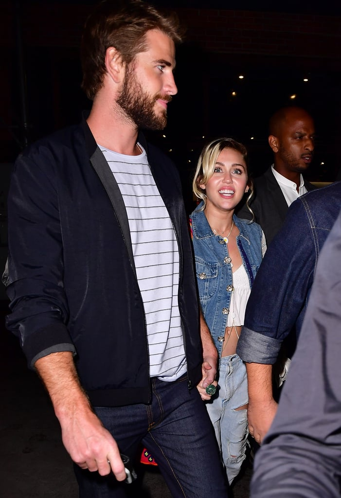 Miley Cyrus and Liam Hemsworth Out in NYC September 2016 ...