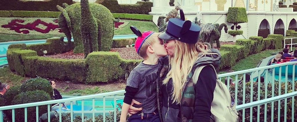 Hilary Duff Responds to Critics After Kissing Son