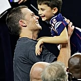 Tom Brady's Cutest Pictures With His Children