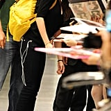 Kristen Stewart Arrives in Japan For Breaking Dawn Part 2