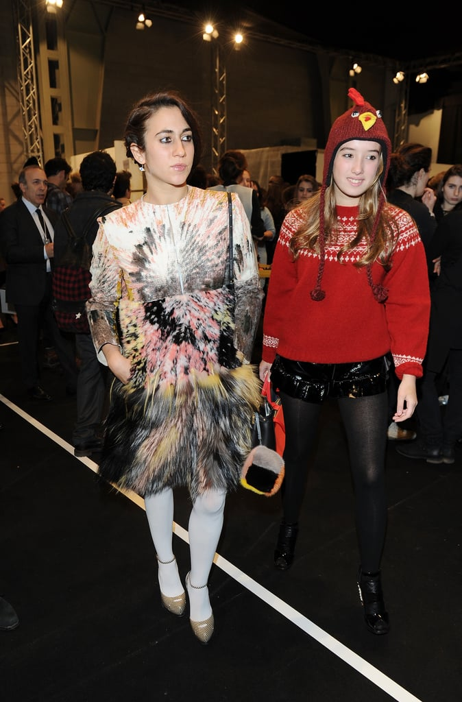Leonetta Fendi and Delfina Deletrez Fendi
