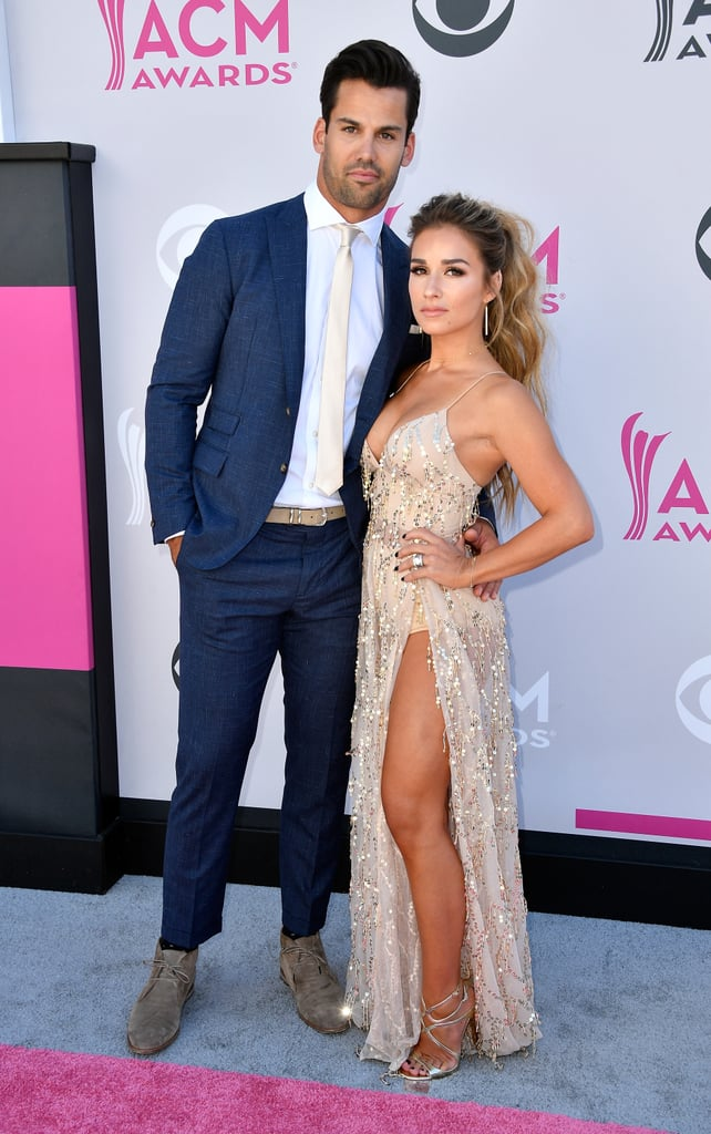 Jessie James and Eric Decker at the 2017 ACM Awards ...