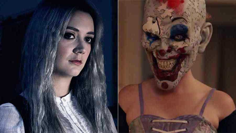 Image result for AHS Cult Painted Face Clown