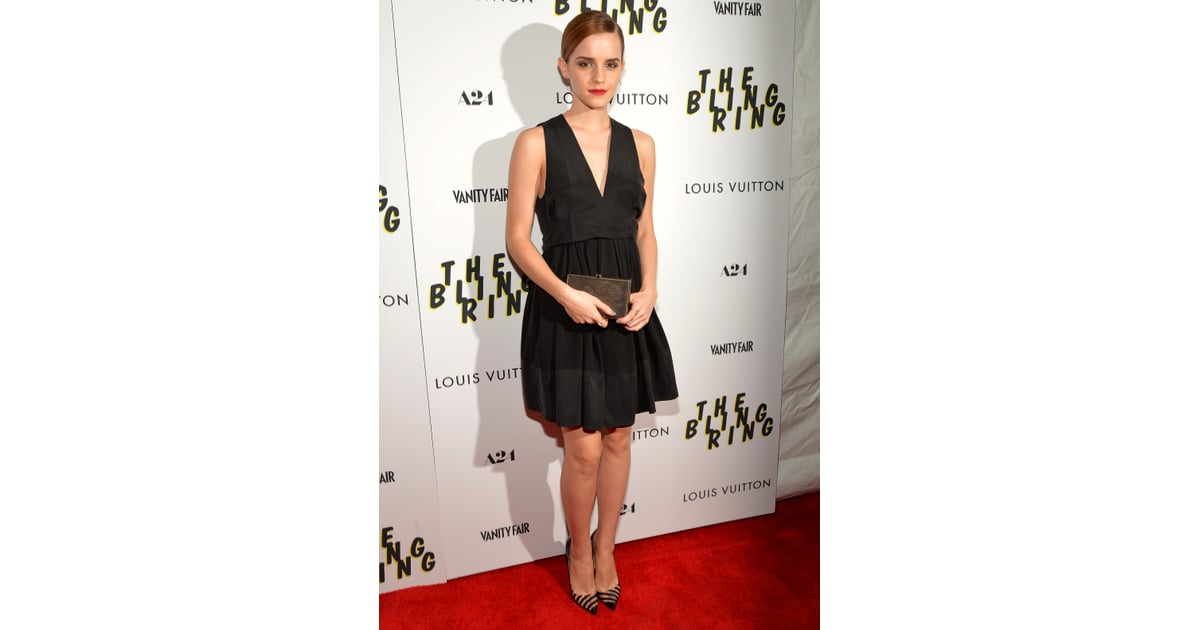 When It Comes To Perfect Lbd Status This Look From Emma Watson Comes Best Celebrity Style