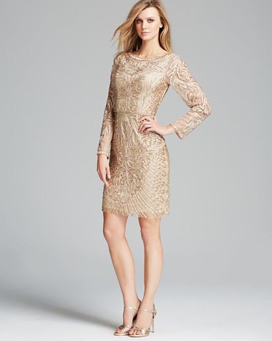 Sue Wong Soutache Beaded Dress