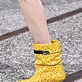 Coach Shoes on the Runway at New York Fashion Week