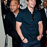 Mark Wahlberg had fun premiering Broken City in his hometown of Philadelphia.