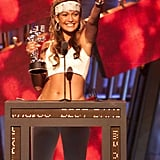 "She took home the award for best dance video for ""Waiting For Tonight"" in 2000."