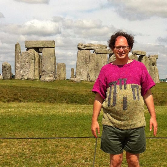 Guy Who Knits Sweaters of Landmarks
