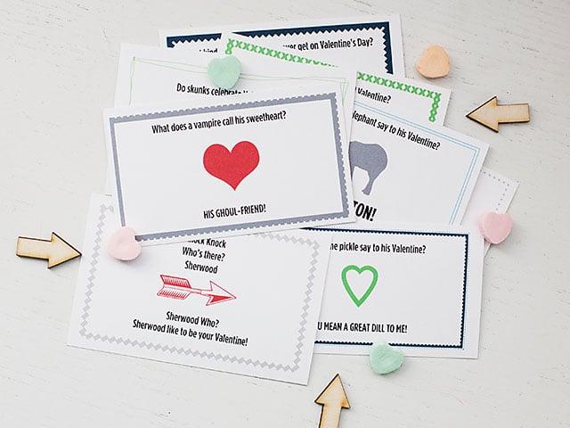 Valentine Joke Notes