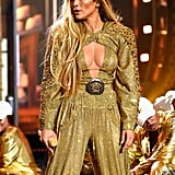 Jennifer Lopez's Vanguard Performance