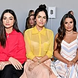 Pictured: Crystal Reed, Camilla Belle, and Lea Michele