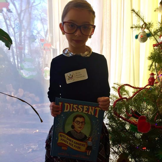 Ruth Bader Ginsburg's Letter to Little Girl Dressed as Her