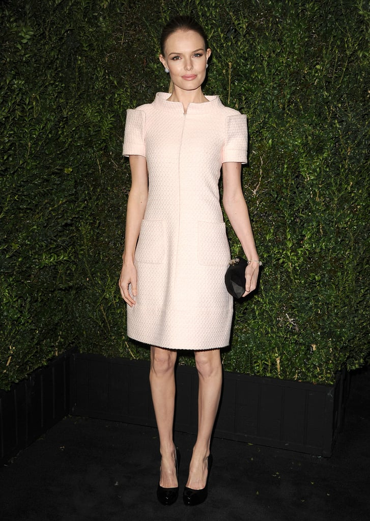 Kate Bosworth stepped out in an ultrastructured pink ...