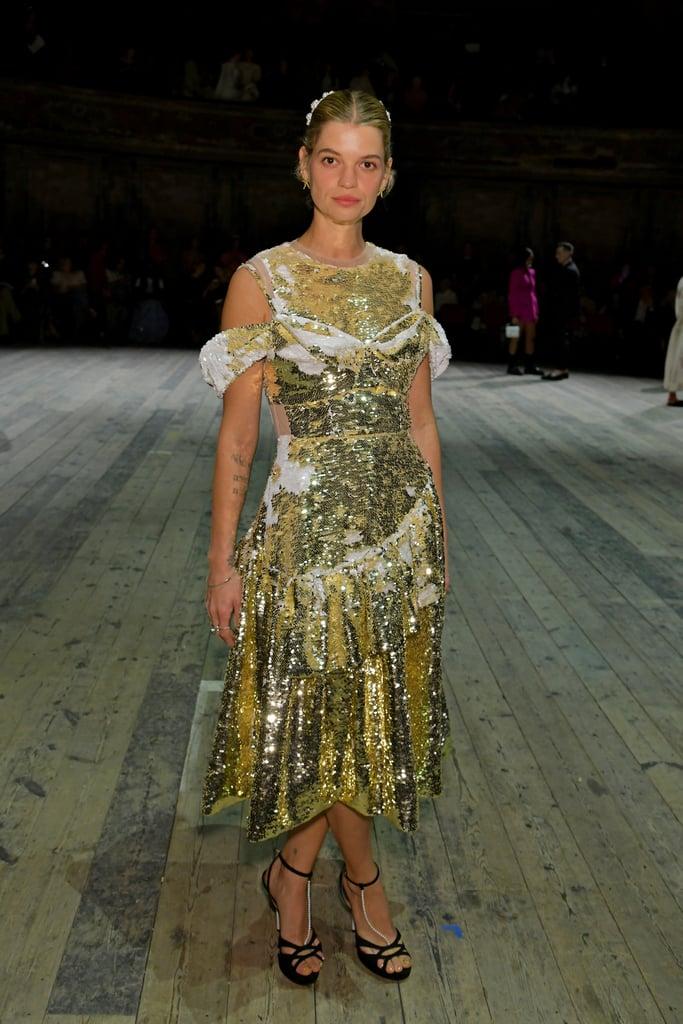 Pixie Geldof at the Simone Rocha London Fashion Week Show