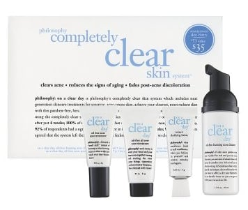 Saturday Giveaway! Philosophy Completely Clear Skin