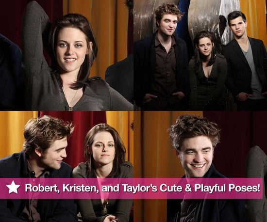 Pictures of Robert Pattinson, Kristen Stewart and Taylor Lautner Together 2010-05-19 11:46:46
