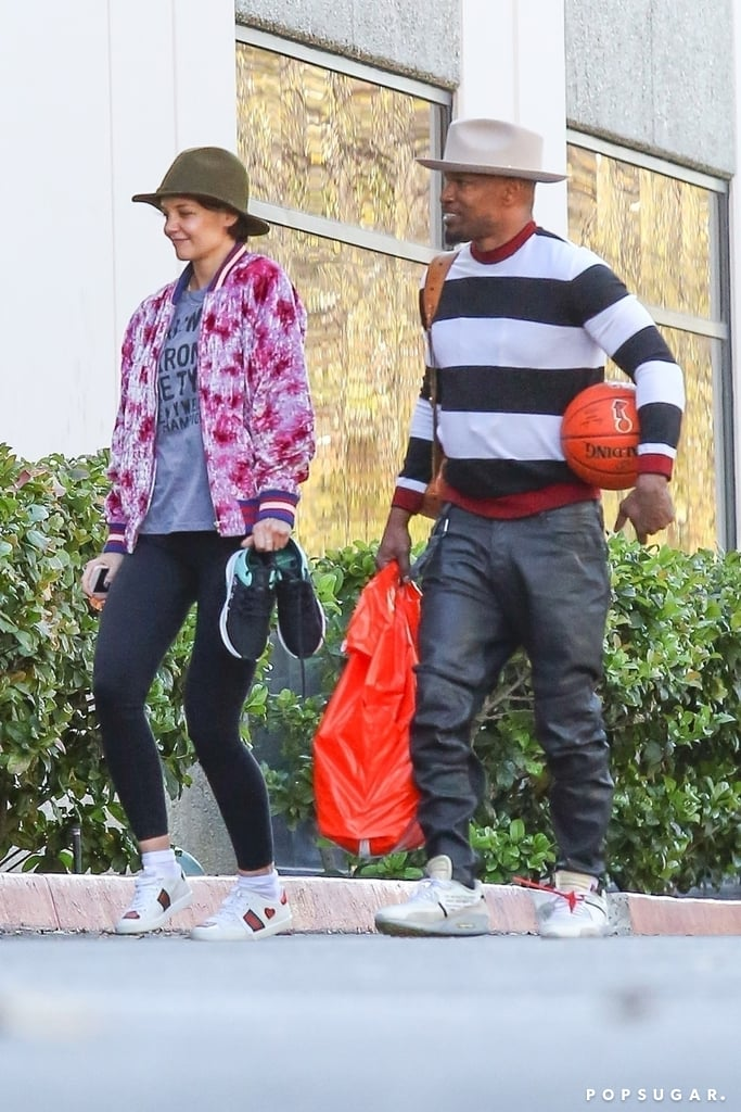 It's Pretty Clear That Jamie Foxx and Katie Holmes Make Each Other Incredibly Happy