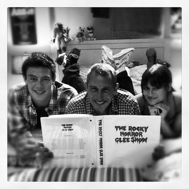 More Rocky Horror Picture Show for Glee? Source: Instagram user adamshankman