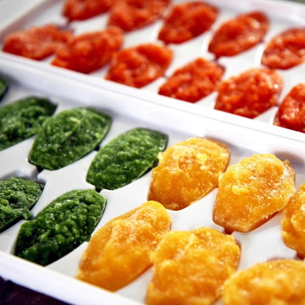 Freeze Pureed Veggies