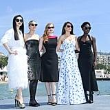 Fan Bingbing, Marion Cotillard, Jessica Chastain, Penélope Cruz, and Lupita Nyong'o