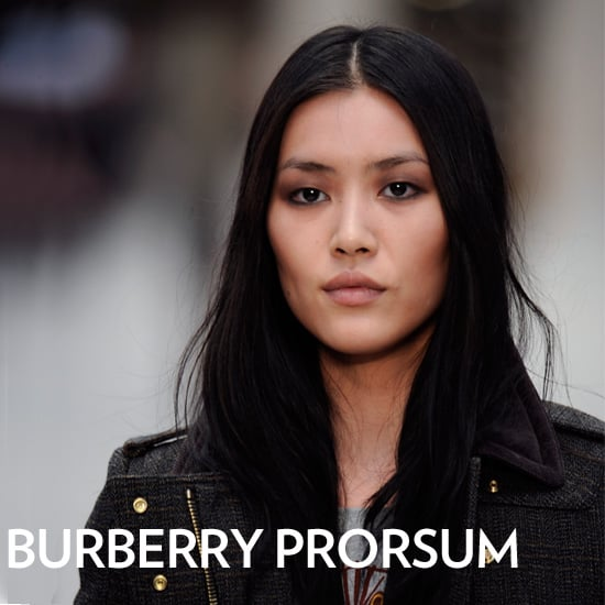 Burberry Goes Dark For Fall 2012