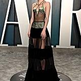 Suki Waterhouse at the Vanity Fair Oscars Afterparty 2020