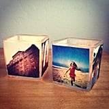 Photo Votive Candle